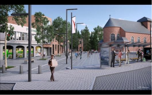 Réaménagement de la Place Gilles Gérard